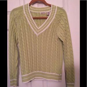 Saint Johns Bay Size Med Long Sleeve Sweater New